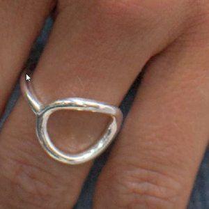 "SILPADA size 8 ""Karma"" ring, .925 sterling silver"